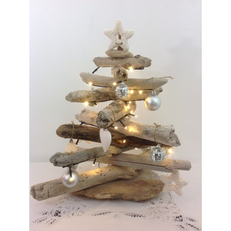 Sapin de Noël  bois flotté ref 030