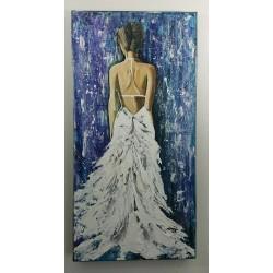 Femme à la Robe Blanche