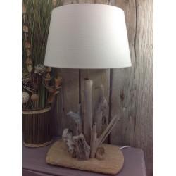 lampe bois flotte/bois flotte/lampe/design/idée cadeau