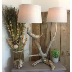 Lampe double abat-jour Yvette