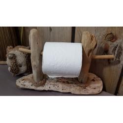 Dérouleur Papier Toilette bois flotté