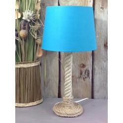 Lampe en corde marine