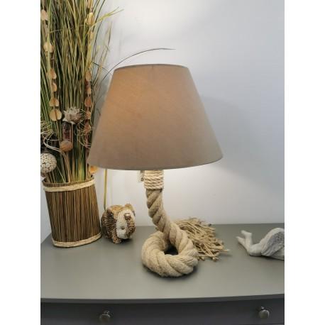 Lampe Lina en Corde Marine 44 mm