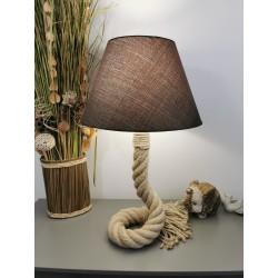 Lampe Inaya corde marine 50 mm