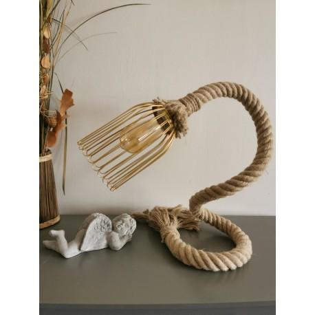 Lampe Corde marine Donia