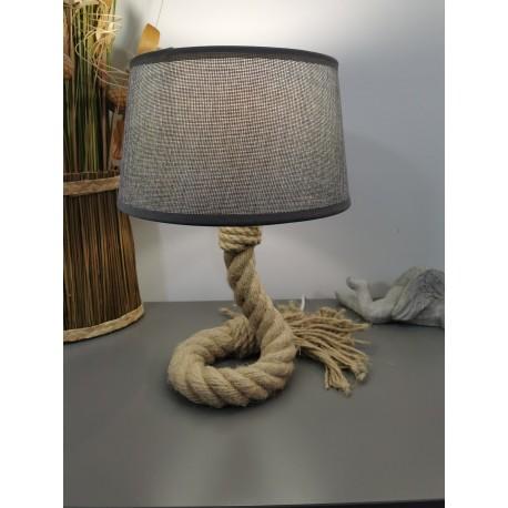 Petite lampe corde