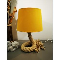 Petite Lampe corde marine