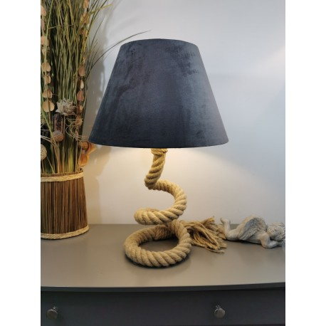 Lampe Corde Marine Vintage