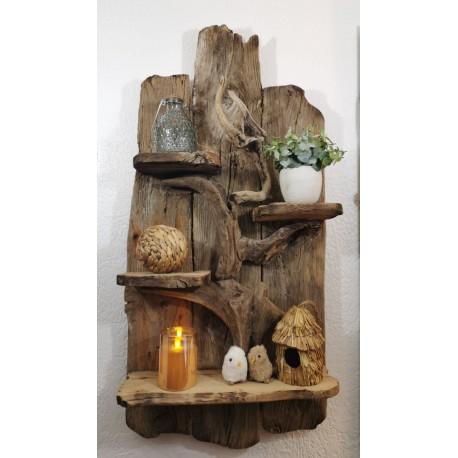 Grande étagère en bois